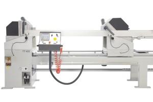 Masina de taiat full automata profile PVC si AL doua capete  TT 422 (2)