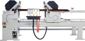 Masina de taiat full automata profile PVC si AL doua capete  TT 422 (4)