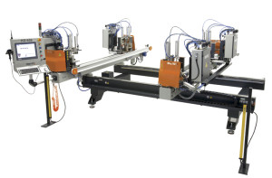 Utilaj automat sudat profile PVC 4 capete (2)